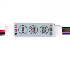 Mini-controler RGB 3x2A