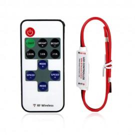 Mini dimmer cu telecomanda RF 3x2A